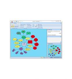 ClaroIdeas Screenshot of Diagram Layout