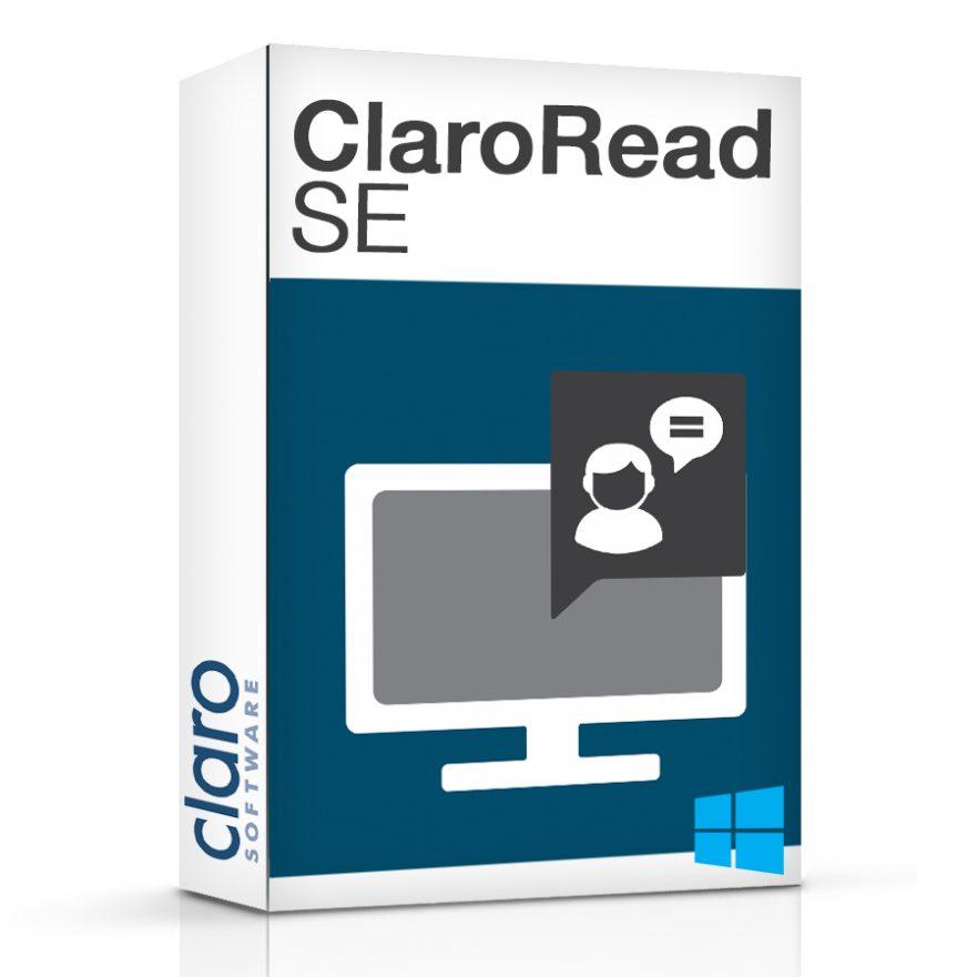 ClaroRead SE Software Box