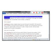 ClaroRead SE Screenshot Showing Highlighting in Microsoft Word