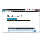 ClaroRead SE Screenshot Showing Highlighting in Internet Explorer