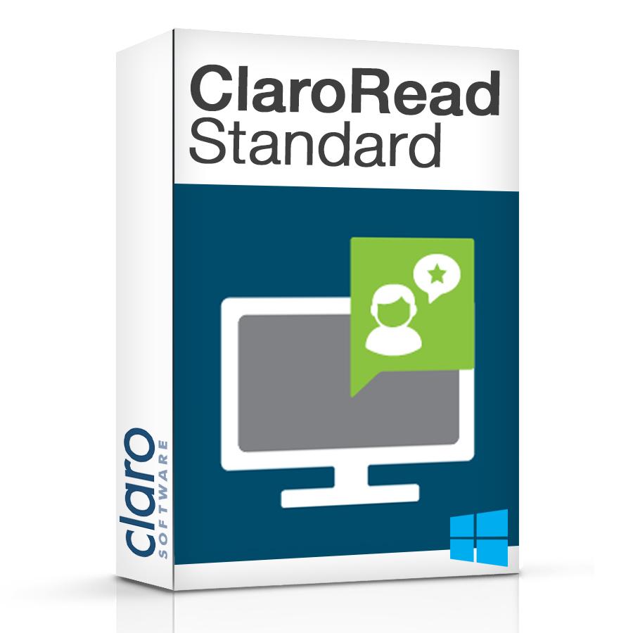 ClaroRead Standard Software Box
