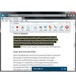 ClaroRead Standard Highlighting inside a Microsoft Word Document