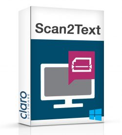 Scan2Text Software Box