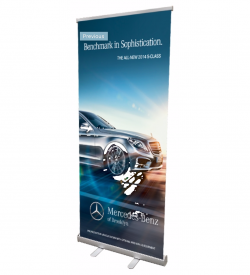"33"" Economy Banner Stand"